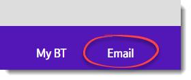 bt mail login