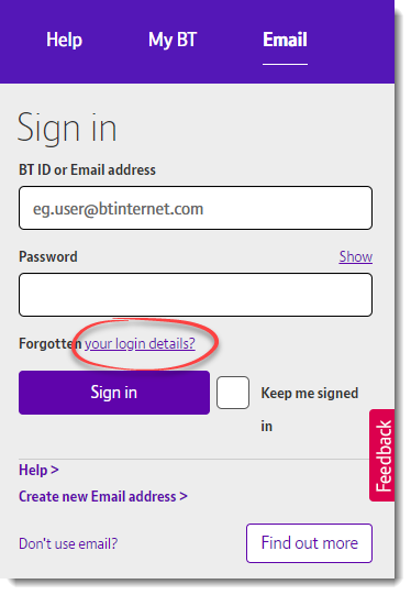 BT Email
